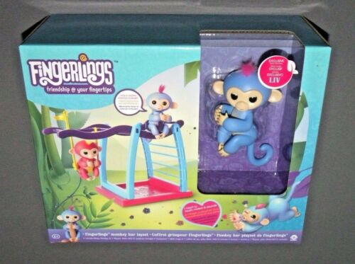 Fingerlings Monkey Bar Layset with Exclusive Baby Monkey