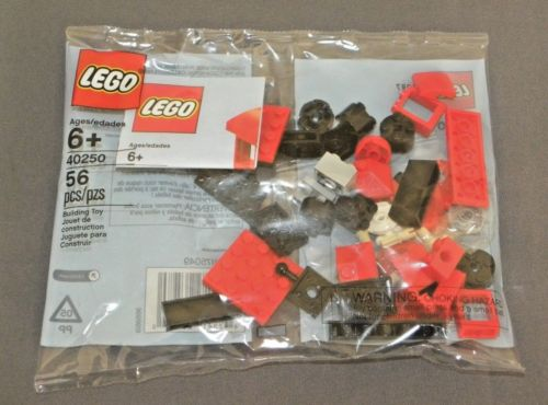 LEGO Mini Train Set 40250 December 2017 Monthly Build Promo Polybag NEW