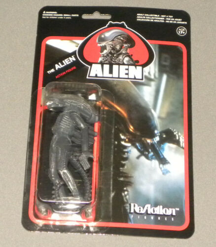 Alien Movie ReAction The Alien Carded Action Figure Super 7 Funko NEW MOC