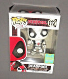 POP! Vinyl White Deadpool Bobble Head Marvel Convention Exclusive FUNKO SDCC