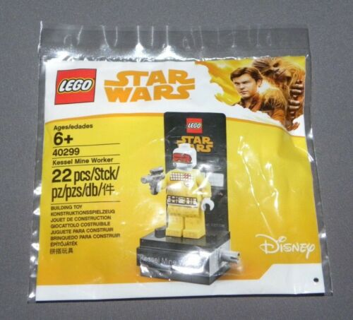 Star Wars Exclusive Kessel Mine Worker Minifigure LEGO 40299 Polybagged Set