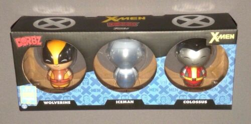 Dorbz X-Men Wolverine, Colossus & Iceman 3 Pack Vinyl SDCC Figure Exclusive