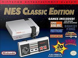 NES Classic Edition Nintendo Entertainment System NEW