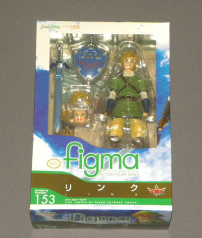 Figma Link Zelda Action Figure Skyward Sword Nintendo Good Smile Company