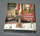 Game of Thrones House Lannister Banner Pack w 2 Figures Set 19361 McFarlane