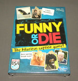 Funny or Die The Hilarious Caption Game Board Family Funny Hasbro NEW