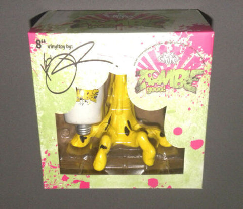 "2013 NYCC Exclusive Zombie Gooo Gooo! Goo 8"" Vinyl Figure Yellow"