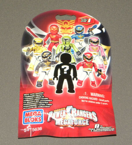 Power Rangers MEGAFORCE Mega Bloks 2013 5636 Series 1 Figure Random Blind Set