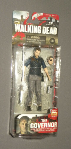 The Walking Dead The Governor Series 4 Four Action Figure McFarlane MOC AMC TV