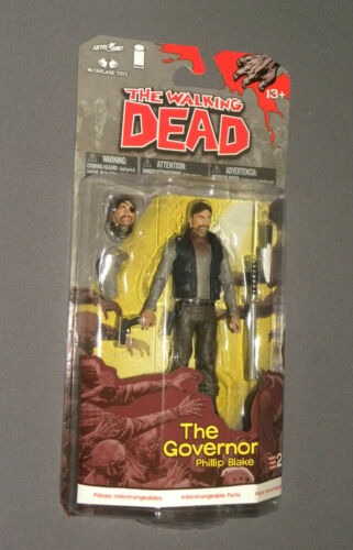 The Walking Dead The Governor Phillip Blake Series 2 Action Figure MOC NEW