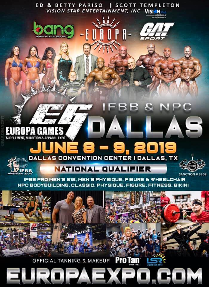 Dallas Europa 2019 - Booth #814