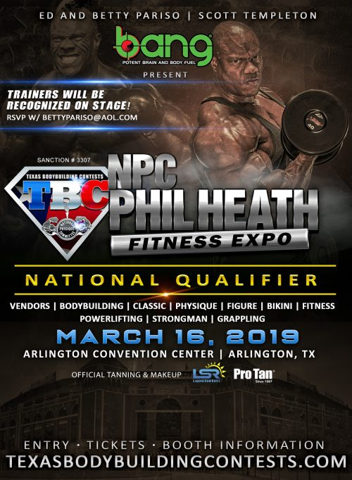 Phil Heath Classic 2019