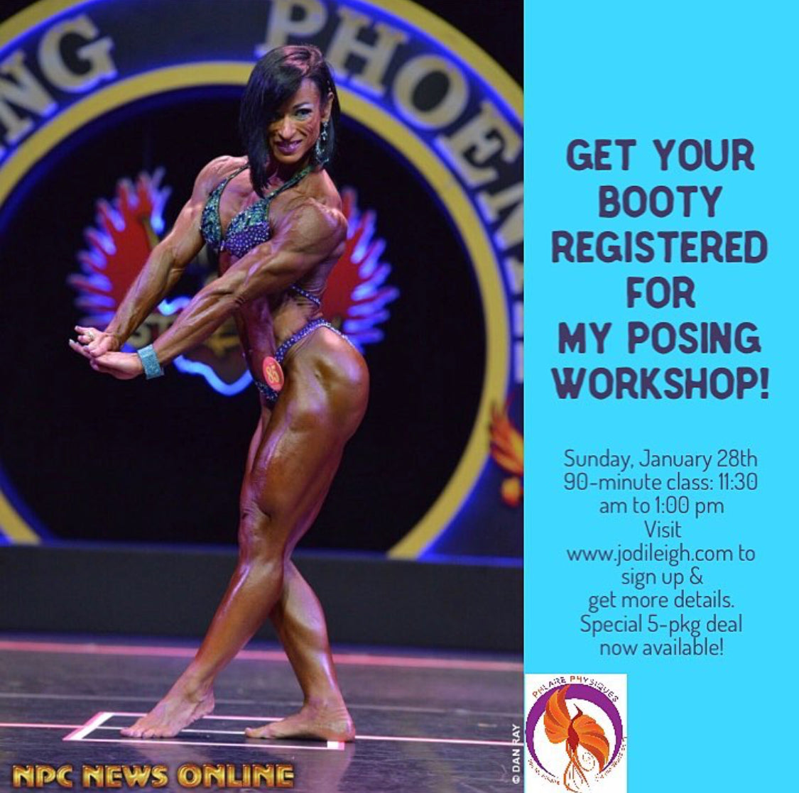 Jodi Miller's First Posing Workshop of 2018!