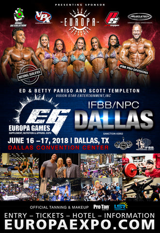 NPC/IFBB DALLAS EUROPA GAMES 2018