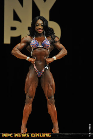 IFBB WPD Pro & Ms. Physique Olympia 2018 Shanique Grant