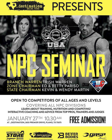 Free NPC Seminar at ...destination Dallas