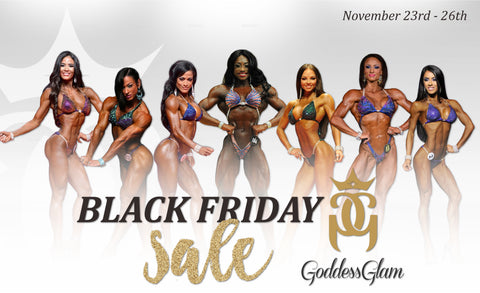 Goddess Glam Black Friday/Cyber Monday Sale!