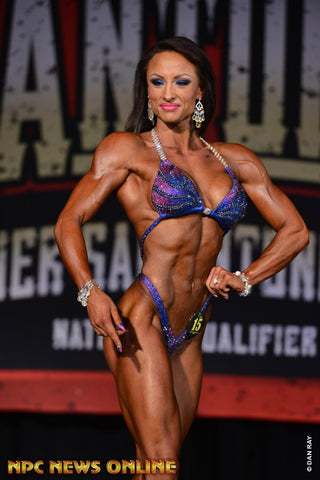 IFBB Figure Pro Stacey Cummings