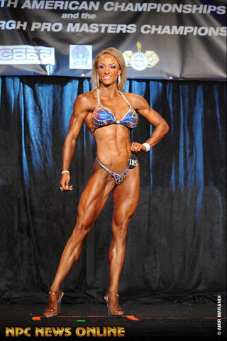 IFBB Figure Pro Stacey Fought