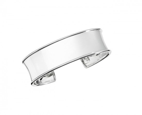 3/4 inch Classic Cuff in Sterling Silver. Suitable for engraving