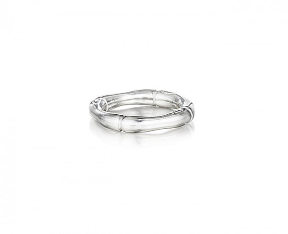 3mm Bamboo Stackable Sterling Silver Ring