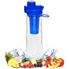 25 oz Infuser Water Bottle with Locking Flip Top Lid by FlavFusion®