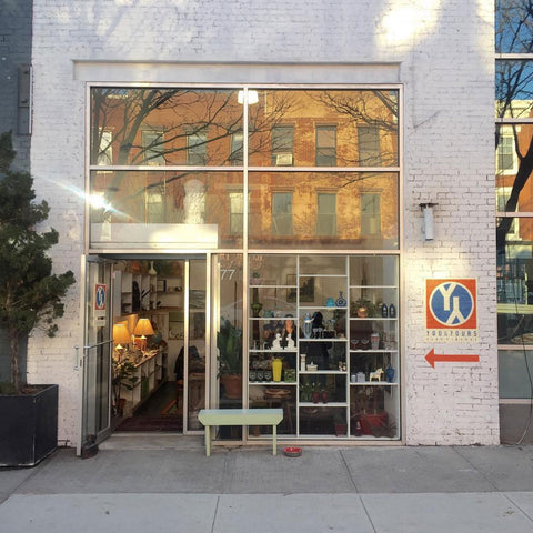 The Y&YFV storefront 77 Franklin St Greenpoint