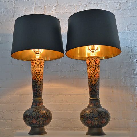 vintage-brass-lamps