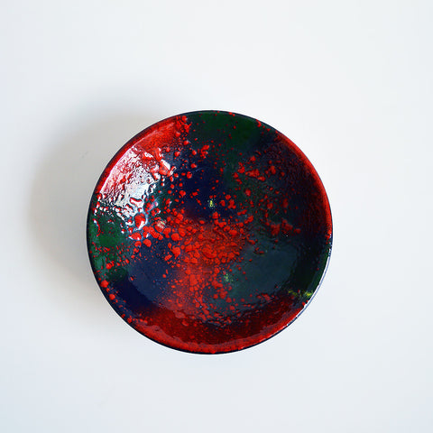 modernist enamel bowl