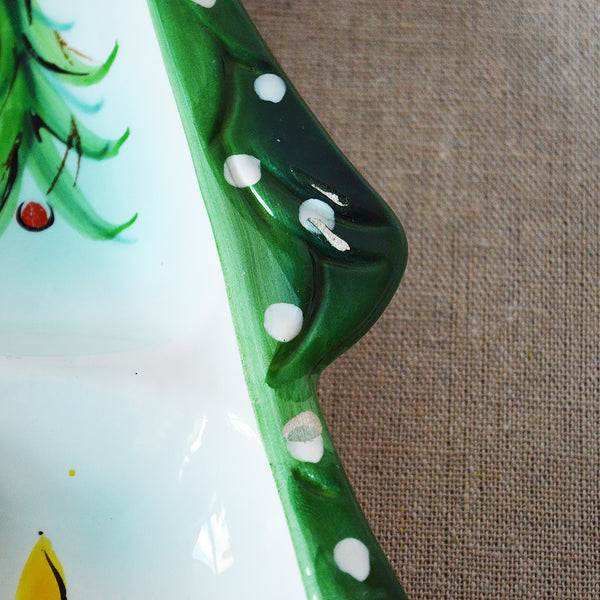 xmas tree candy dish - You & Yours Fine Vintage