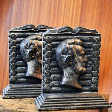 abraham lincoln bookends - You & Yours Fine Vintage