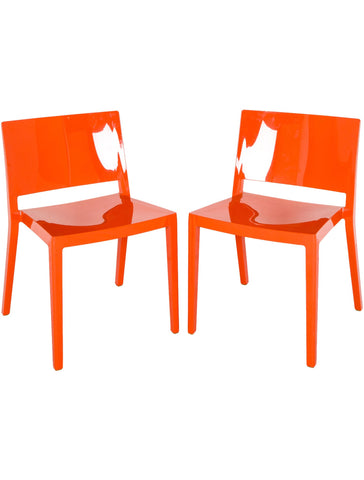Pair of Lizz Chairs - Kartell