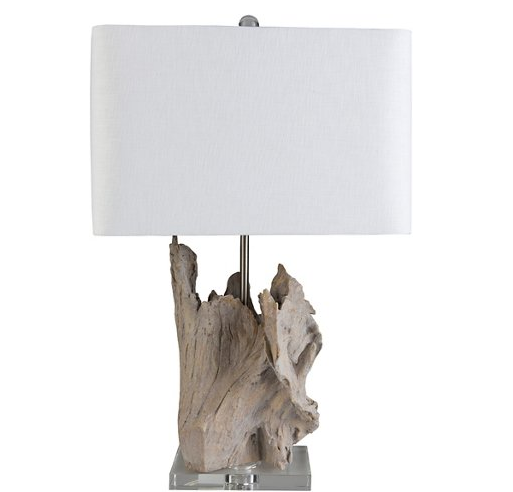 Ramsey Crystal Table Lamp - Pale Brown
