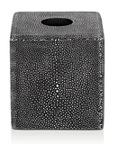 SV CASA Shagreen-Effect Resin Tissue Box