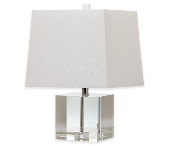 Safavieh McKinley 1-Light Crystal Block Lamp