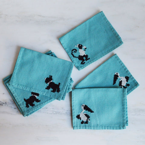 tiffany blue cocktail napkins - You & Yours Fine Vintage