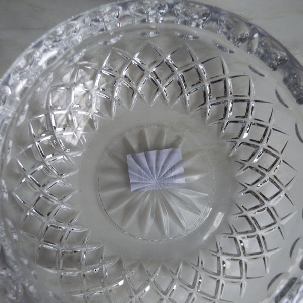 pressed glass bowl - You & Yours Fine Vintage