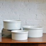 set of 3 casseroles - You & Yours Fine Vintage