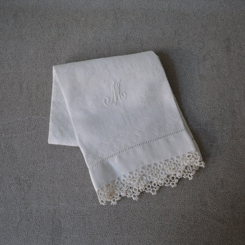 monogrammed hand towel - You & Yours Fine Vintage