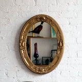 oval gilt-wood mirror - You & Yours Fine Vintage