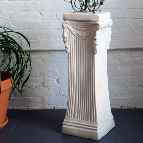 Romanesque plaster column - You & Yours Fine Vintage