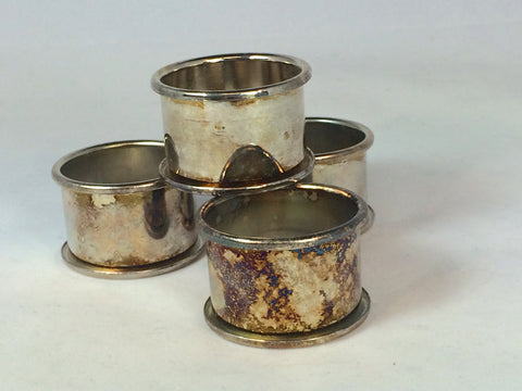 silverplate napkin rings