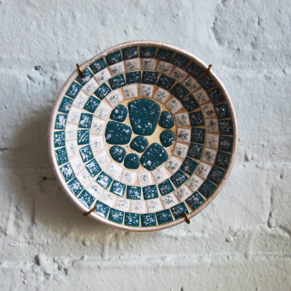 small mosaic tile bowl - You & Yours Fine Vintage