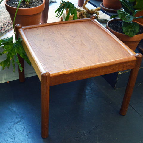 mid-century teak coffee / side table - You & Yours Fine Vintage