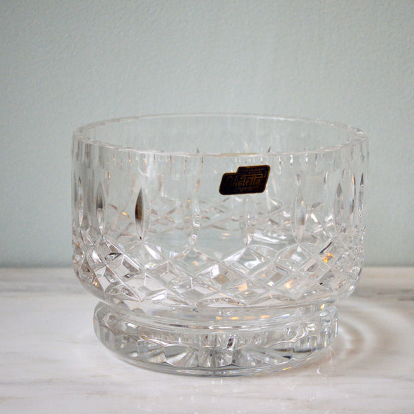 Violetta cut crystal bowl - You & Yours Fine Vintage
