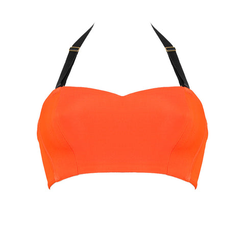 Itsy Bitsy Bikini Bralette orange red