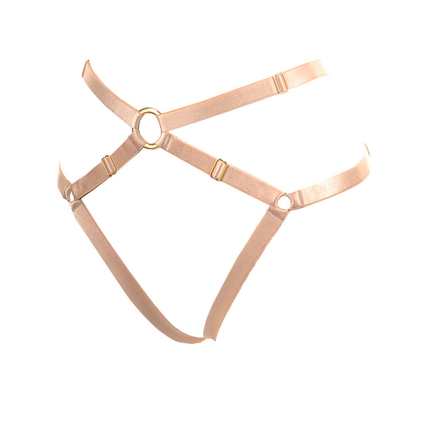 Bon Bondage Harness Thong