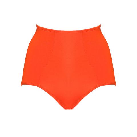 Itsy Bitsy Bikini High Waist Panty orange red