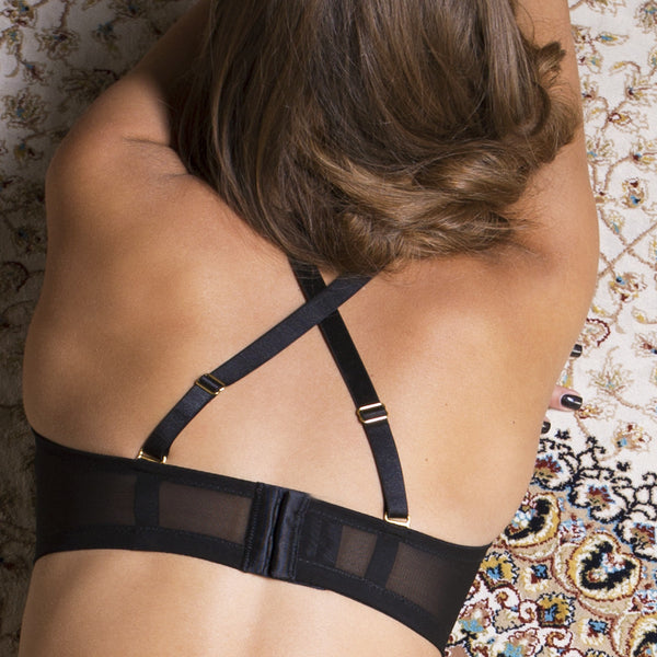 A Jewel a day... Bralette black