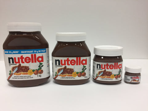 Nutella Jar with Personalized Label